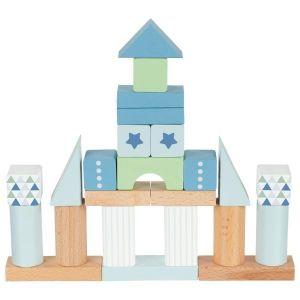 Goki Baril de construction bleuet