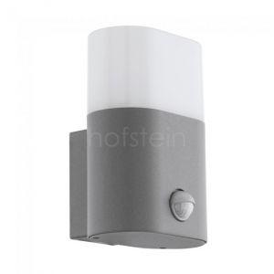 Eglo Applique LED à capteur d'extérieur Favria 1x11W Aluminium Argenté