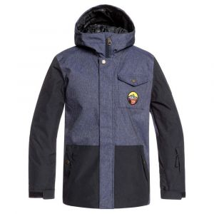 Quiksilver Vestes Ridge Youth - Denim Blue - Taille 12 Années