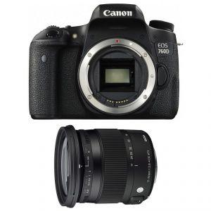 Canon EOS 760D (avec objectif Sigma 17-70mm)