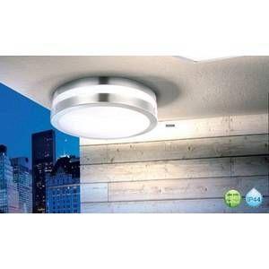 Globo Lighting Lampe d'extérieur Globo CREEK Acier inoxydable, Blanc, 2 lumières Design Extérieur CREEK