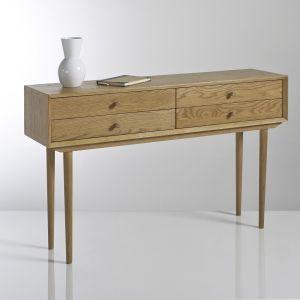 Console vintage, 4 tiroirs, Quilda C ne Taille Taille Unique