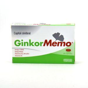 Laboratoires Tonipharm GinkorMemo - 60 gélules