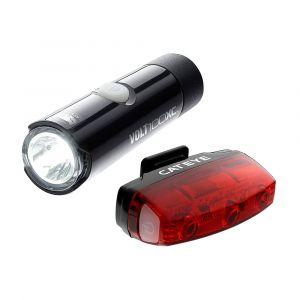 Cateye Kit éclairage Volt 100 XC - Rapid Micro