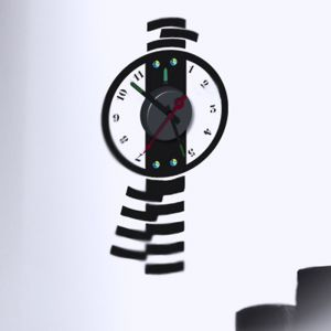 Horloge murale sticker Design Balancier