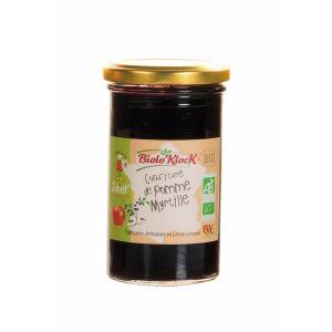 Biolo'klock Confiture EXTRA Pommes Juliet - myrtilles 300g