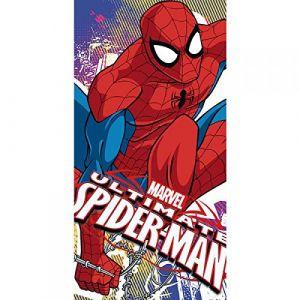 Kids Euroswan Serviette de plage Spider-Man