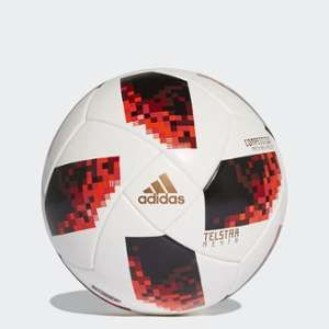 Adidas Ballon Coupe du Monde 2018 Telstar 18 Competition Mechta Pack - Blanc/Rouge/Noir