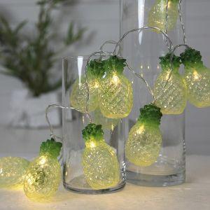 Guirlande lumineuse ananas à 10 lampes LED