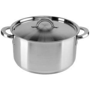 Fiskars 835256 - Casserole KitchenSmart avec couvercle (5 L)