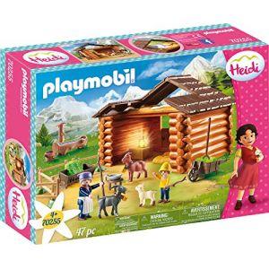 Playmobil 70255 - Heidi - eter avec étable de chèvres - 2020