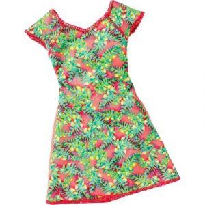 Mattel Vêtement robe tendance rouge et verte