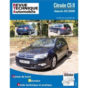E-T-A-I Revue technique pour Citroën C5 2 1,6 et 2,0 HDI