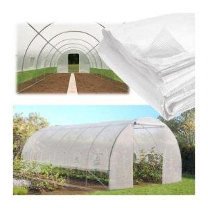ProBache Bâche de Rechange 180 GR/m² pour Serre Toutes Saisons 18M² Transparente