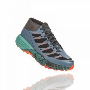 Hoka one one Speedgoat WP Chaussures de running mi-hautes Homme, stormy weather/beryl green US 10,5 | EU 44 2/3 Chaussures trail