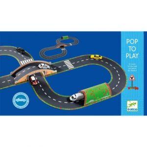 Djeco Circuit 3D à construire en route
