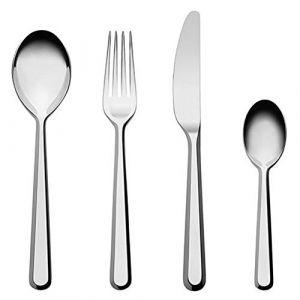 Alessi Ménagère Amici / 6 personnes - 24 pièces acier en métal