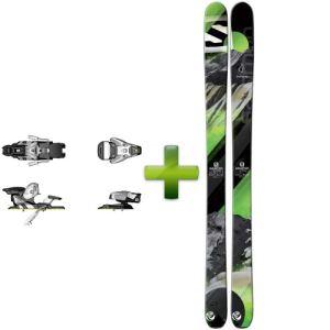 Salomon Q-105 - Skis alpins avec fixations STH2