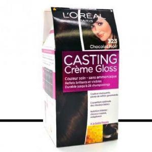 L'Oréal Casting Crème Gloss 323 Chocolat Noir - Teinture sans ammoniaque