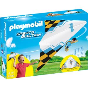 Playmobil 9206 Sport & Action - Deltaplane jaune