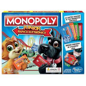 Hasbro MonopolyJunior Electronico