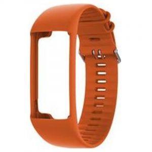 Polar Bracelet en silicone A370 pour tracker d%u2019activité avec fréquence cardiaque M/L Orange