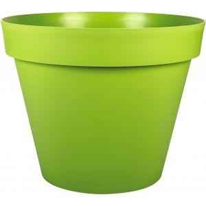 Eda Plastiques Pot toscane diam.40cm 23l vert matcha ref.13610 v.mc