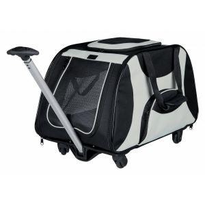 Trixie Trolley nylon 34x43x67 cm noir/gris
