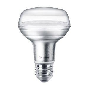 Philips Ampoule LED E27 - CorePro 4-60W R80 36D - Blanc Chaud 270