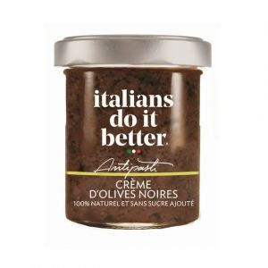 Italians do it better Creme d'olives noires