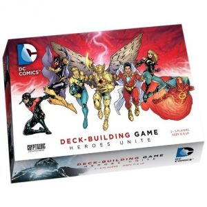 Cryptozoic Entertainment 330255 - Jeu de rôle DC Comics Heroes Unite Deck Building