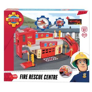 Dickie Toys Centre de secours Fire Sam le Pompier