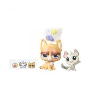 Hasbro Figurine Petshop à personnaliser Sulky MacWhiskers & Chenille Chilla
