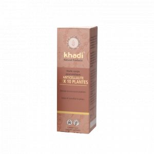 Khadi Huile anti-cellulite aux 10 plantes 100ml