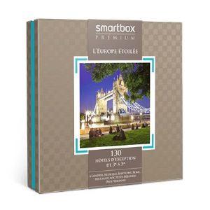 Smartbox L´Europe étoilée - Coffret cadeau séjour pour 2 personnes