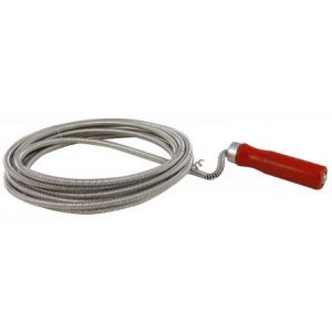 Outifrance Deboucheur flexible, 5 m - Diamètre 20 mm