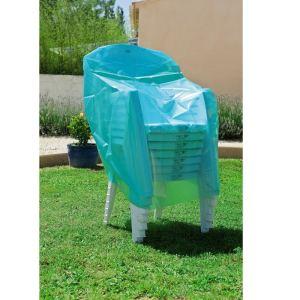 Maillesac Housse de protection pour 6 chaises ou 4 fauteuils de jardin