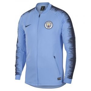 Nike Veste de football Manchester City FC Anthem Homme - Bleu - Taille M