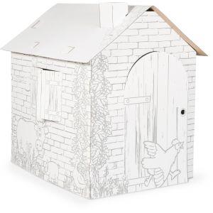 maison enfant carton comparer 294 offres. Black Bedroom Furniture Sets. Home Design Ideas