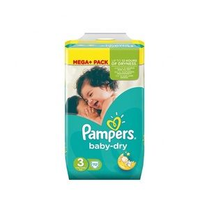 pampers baby dry taille 3 5 9 kg 112 couches. Black Bedroom Furniture Sets. Home Design Ideas