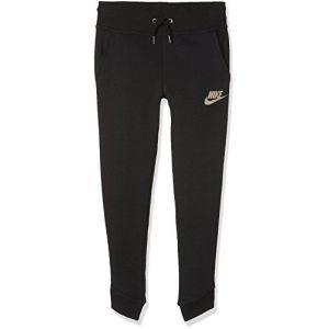 Nike 890253 - Pantalon de survêtement - Fille - Noir (Black) - Taille: M
