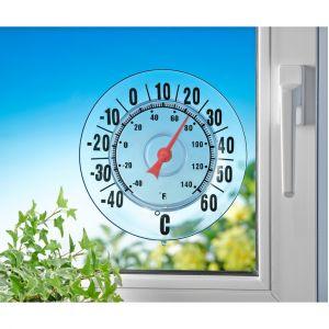 Wenko Thermomètre extérieur avec ventouse