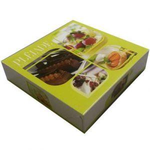 Boîte à tarte Anthony (x50) Taille - 26 x 26 x 5 cm (x50)