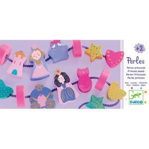 Djeco Perles en bois Princesse