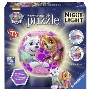 Ravensburger Puzzle 3D Pat Patrouille avec LED 72 pièces