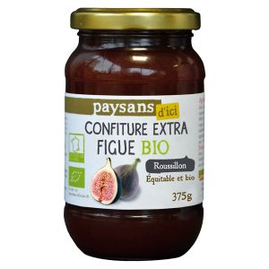 Ethiquable Confiture de figue du Roussillon BIO 375g
