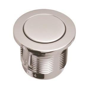 Grohe 37115PI0 - Bouton poussoir et rosace pour Servo-Set pour perçage de couvercle de réservoir D40 mm. chromé mat/chromé