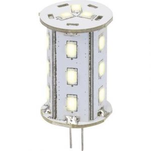 Sygonix Ampoule LED G4 LN-04-18ES-TR-30D-WW-00 à broches 2.4 W = 20 W blanc chaud (Ø x L) 22 mm x 46 mm EEC: A 1 pc(s)