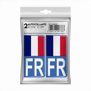Cadox 2 Stickers En 3d France