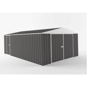 EasyShed Easy Shed - Garage grande dimension interieur XXL avec puit de lumière 19,95m2 - EGAR-7530-SG-198 - OUTILLAGE ONLINE